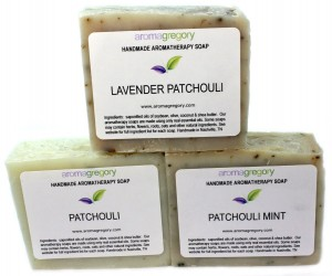 patchouli soap set