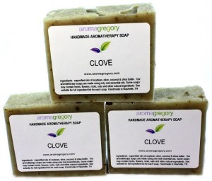 clove soap set