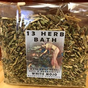 13 herb hoodoo bath unhexing