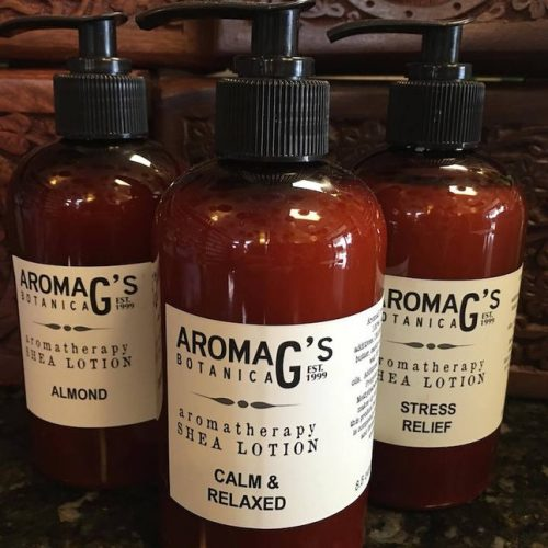 aromatherapy lotion