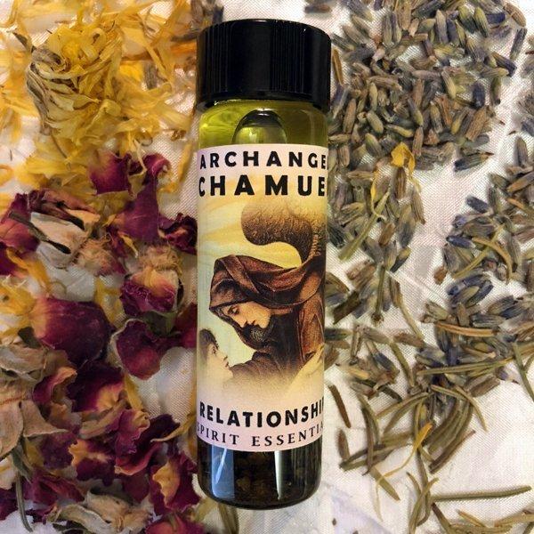 Archangel Chamuel Relationship Oil