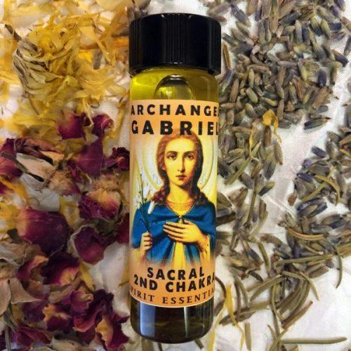 2nd Chakra - Archangel Gabriel Oil Sacral Chakra