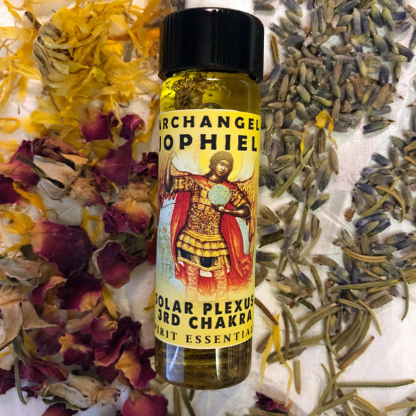 3rd Chakra - Archangel Jophiel Oil Solar Plexus Chakra