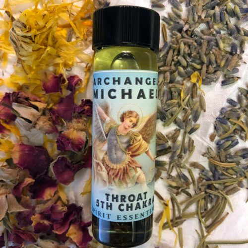5th Chakra Oil - Archangel Michael Oil Throat Chakra