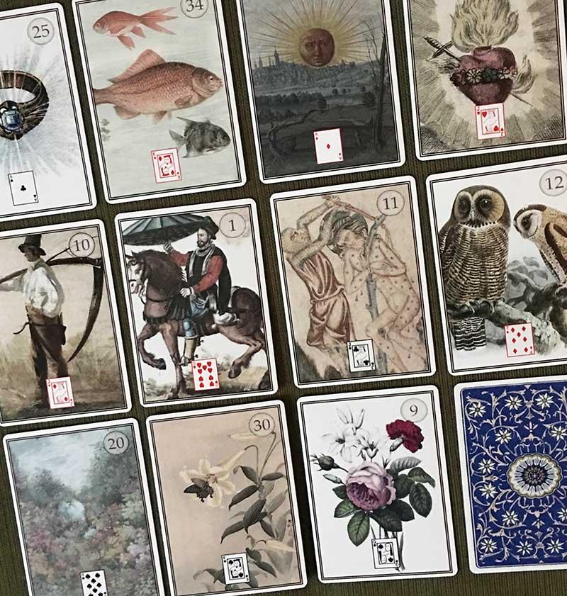 Lenormand Oracle Cards decks | aromaG's Botanica