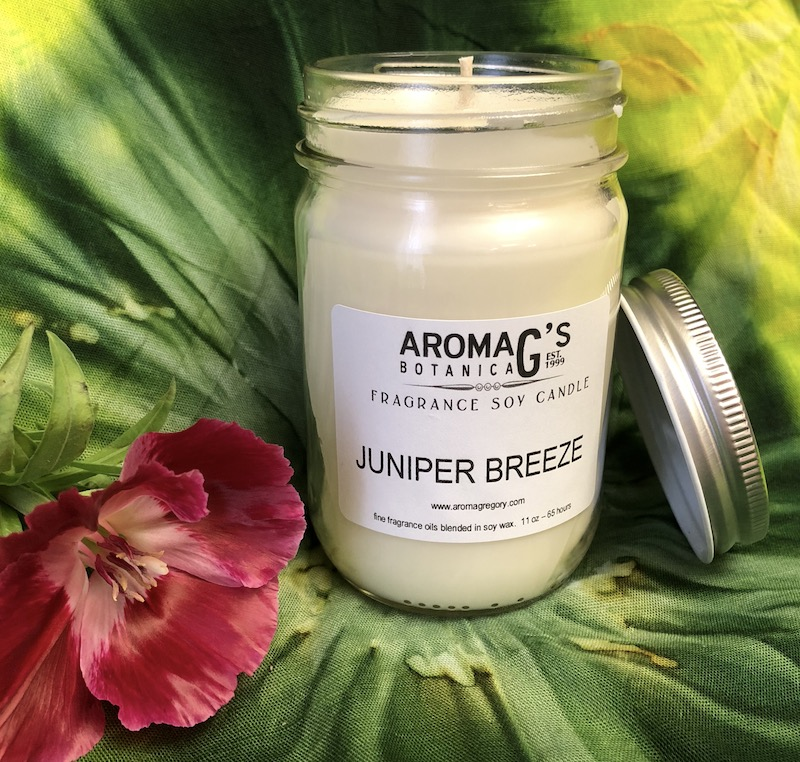 Juniper Breeze Soy Candle