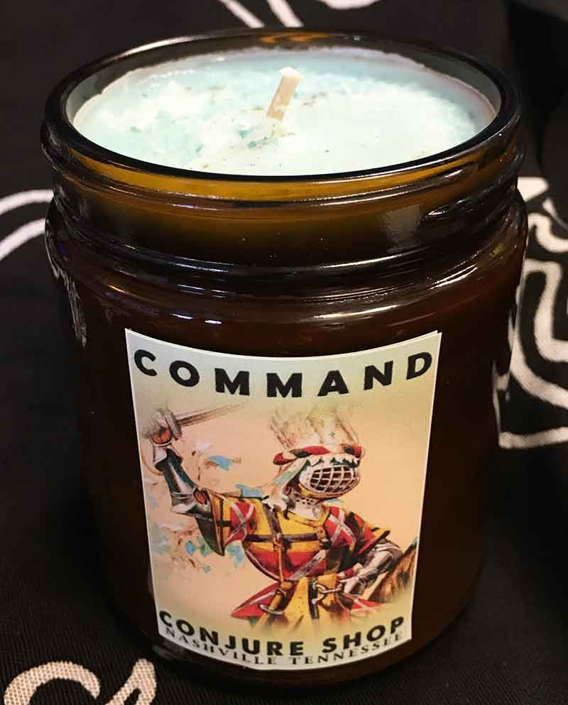 Command Vigil Candle - Hoodoo Commanding spell candle