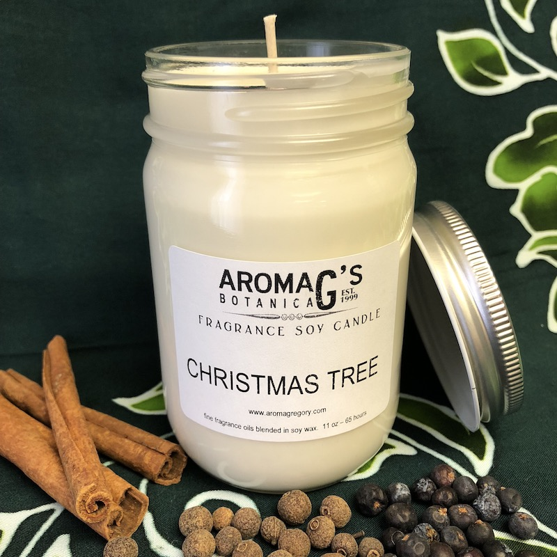 Christmas Tree Soy Candle