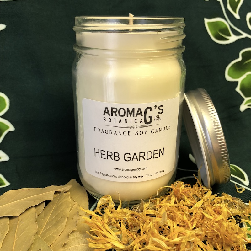 Herb Garden Soy Candle