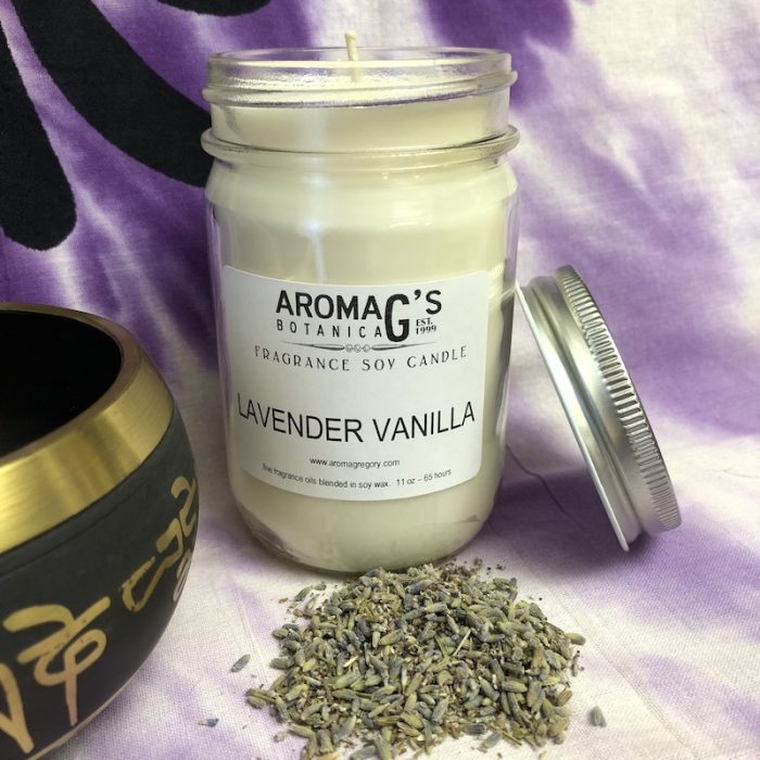 Lavender Vanilla Soy Candle
