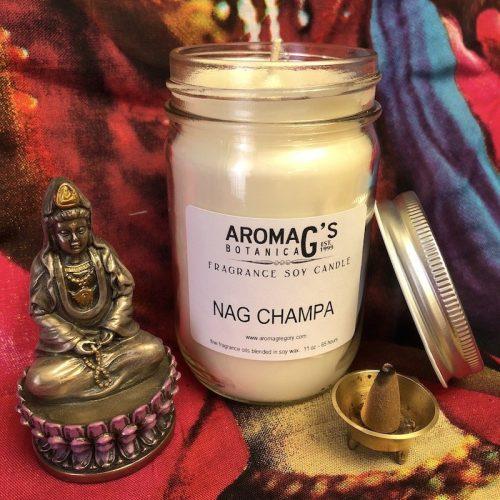 Nag Champa Soy Candle