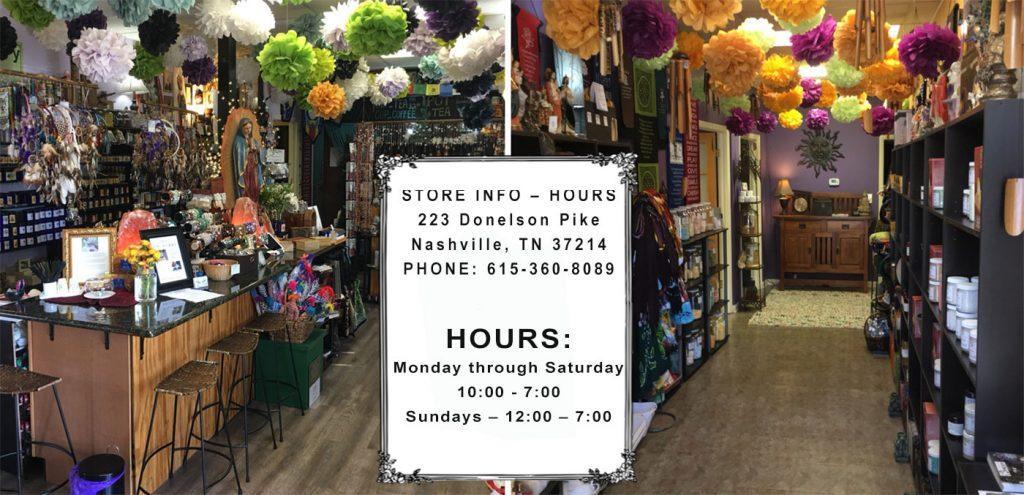 Nashville soap essential oil store - tea shop | aromaG's Botanica