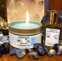Candles - perfume tins