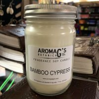 Bamboo Cypress Soy Candle