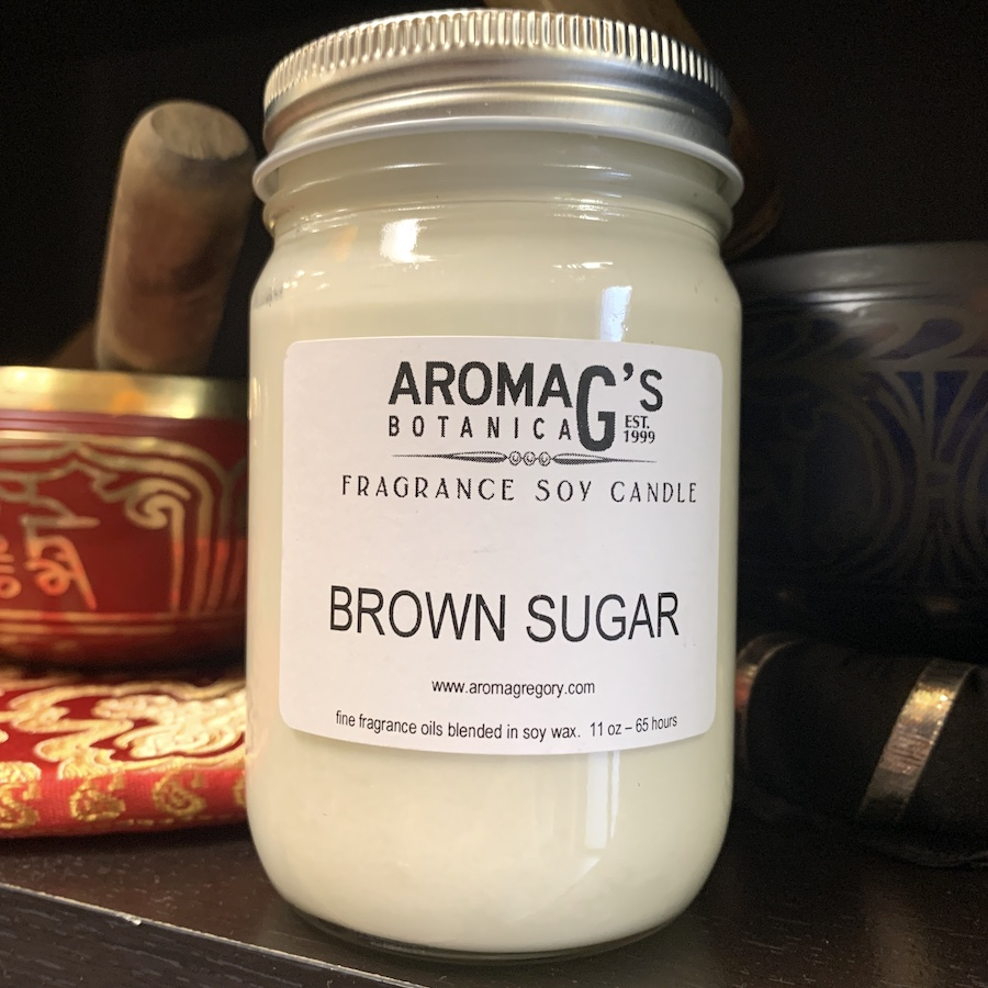 brown sugar soy candle