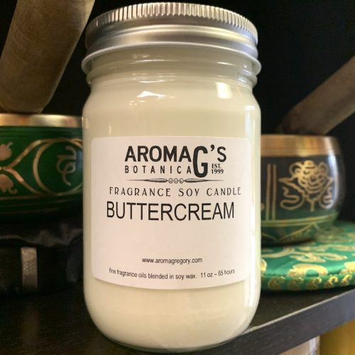 buttercream soy candle