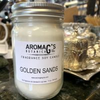 golden sands soy candle