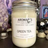 green tea soy candle