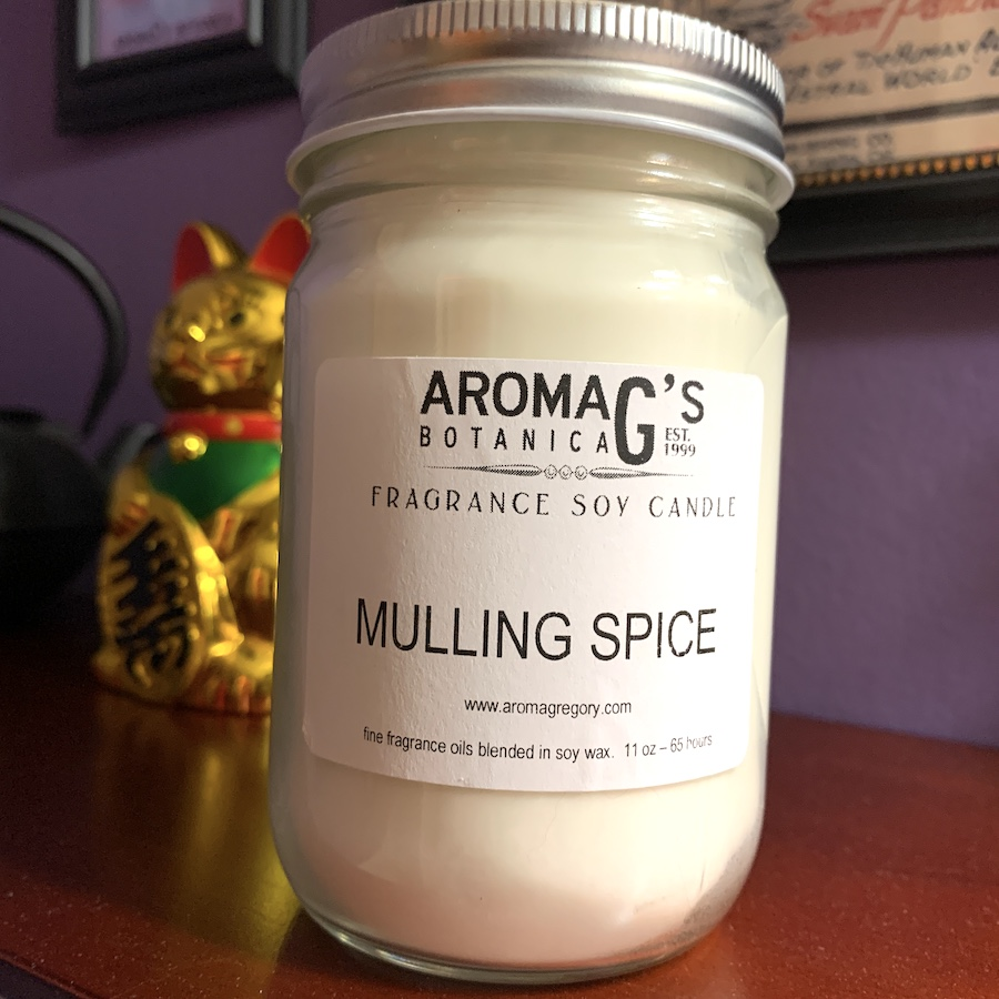mulling spice soy candle
