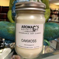 oakmoss soy candle
