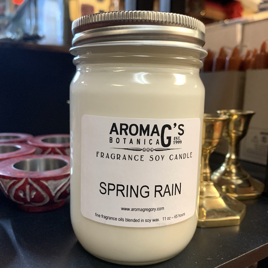 Spring Rain Soy Candle