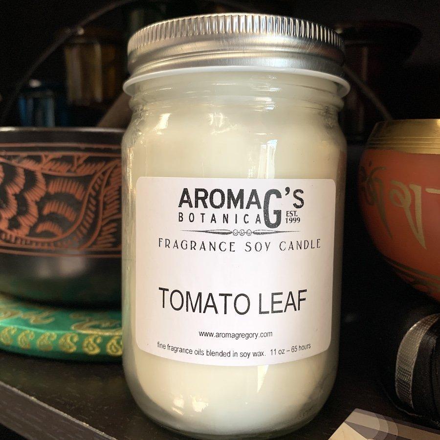 Tomato Leaf Soy Candle