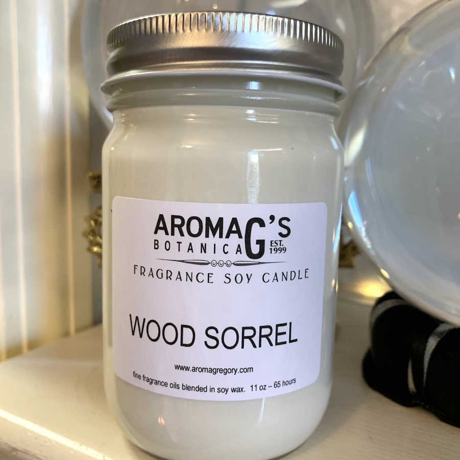 Wood Sorrel Soy Candle