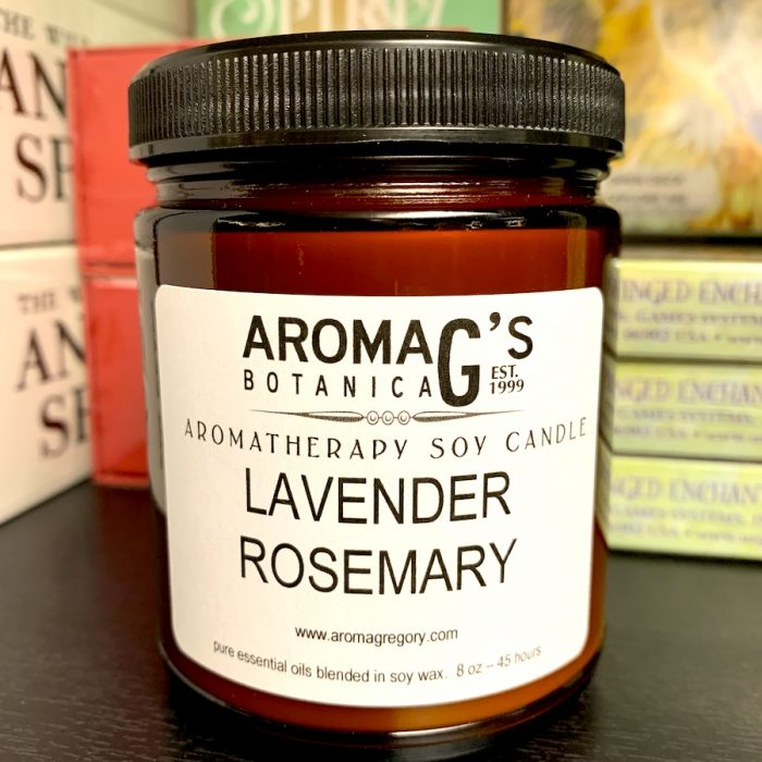 lavender rosemary candle