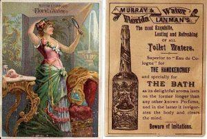 florida water victorian ad