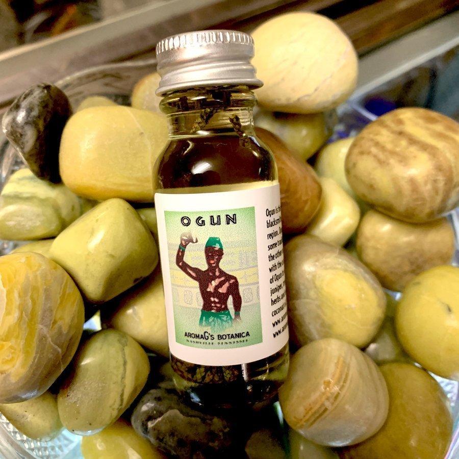 ogun orisha oil
