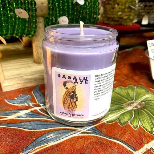 Babalu Aye Orisha candle