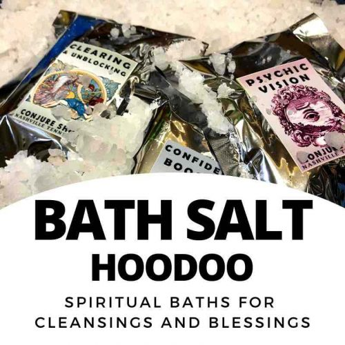 Bath Salt - hoodoo and folk magic ritual bath salt