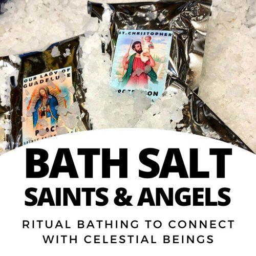 Bath Salt - magic of Saints and Angels ritual bath salt