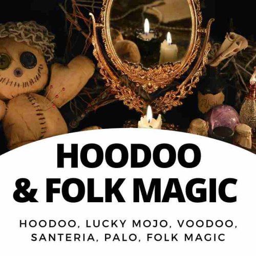 Hoodoo - Voodoo - Folk Magic books