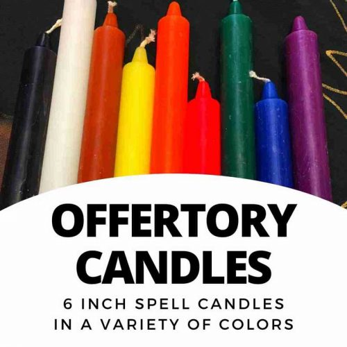 Offertory Candles - 6 inch candles