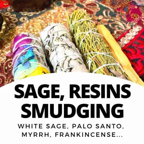 Sage, Smudges and Resins