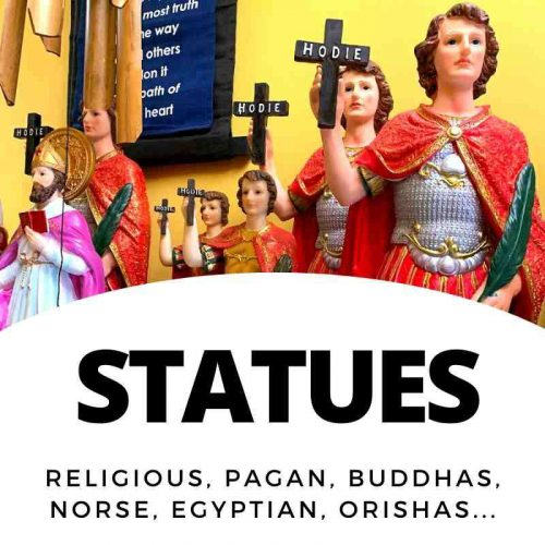 Statues - Religious and Saints