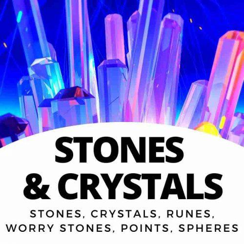 Stones, Gems, Minerals, Runes