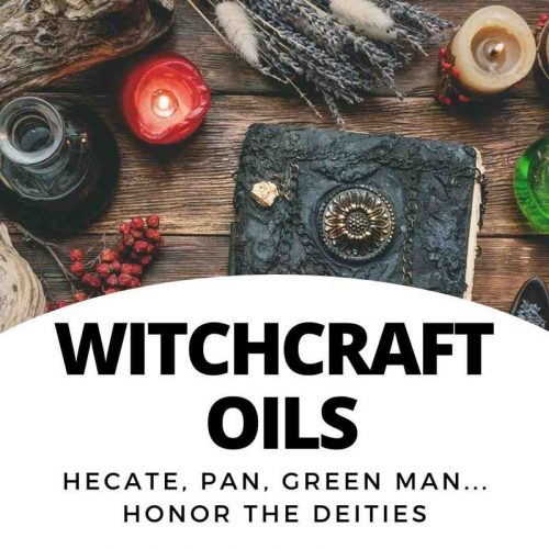 Oils - AGWitchery - old witchcraft